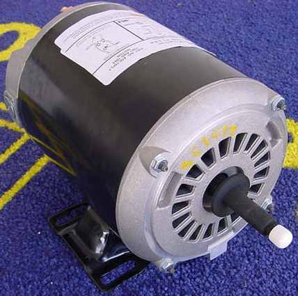 1 5 horsepower above ground pump motor bn55 bn35ss ezbn35 for Home depot pool pump motor
